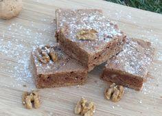 Amerikanische Walnuss Brownies - Walnut Brownies - barbaras-spielwiese.blogspot.de