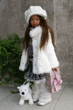 Natalya. Art doll by Angela Sutter