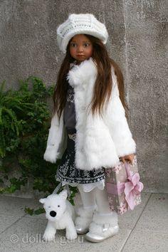 Natalya. Art doll by Angela Sutter
