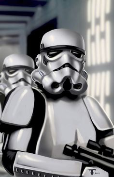 Stormtrooper close up