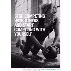 Stop competing with others and start competing with yourself.!! #ClubFit #motivation #fitquotes #gymlife #fitlife #fitness #fitnessmotivation #gym #exercise  iLiveFit LIVEFIT! JOINTHEFITREVOLUTION!