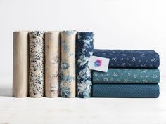 Stitch back to 19th-century France with these vintage reproduction prints.