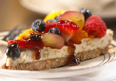 Fruit and Almond Tart
