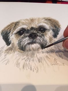 Let me create a PET PORTRAIT for you! Send me a photo of your pet, and Ill create YOUR very own Pet portrait. Created by hand! Pet Portraits, Your Pet, How To Draw Hands, Pets, Create