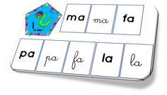 Lecture en folie : jeu de lecture de syllabes CP