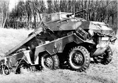 Schwerer Panzerspähwagen Sd.Kfz 231/2/63 (8-Rad) 8 wheeled German armoured car series of reconnaissance and screening vehicles.