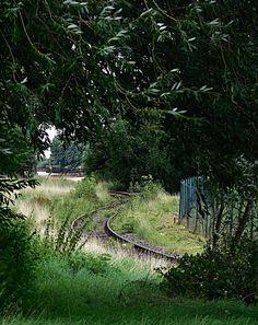 Gleise am Hafen Oldenburg