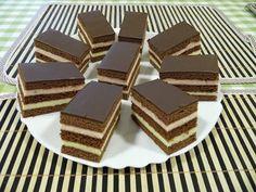 Lajcsi szelet, már sokszor megsütöttem, nálunk a megunhatatlan sütik közé tartozik! - Egyszerű Gyors Receptek Sweet Desserts, Sweet Recipes, Torte Cake, Brownie Bar, Fudge, Nutella, Brownies, Sweets, Candy