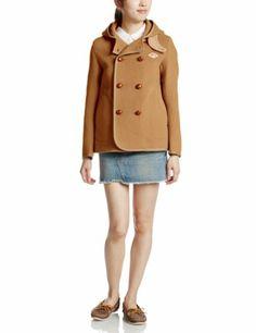Amazon.co.jp: (ビショップ)Bshop 【DANTON(ダントン)】ウールモッサダブルブレストフードジャケット: 服&ファッション小物