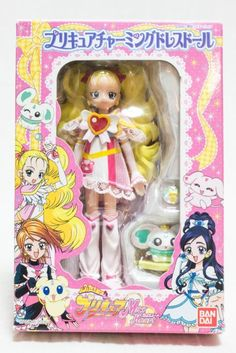 Pretty Cure Max Heart Shinny Luminous Charming Dress Doll Figure Bandai JAPAN