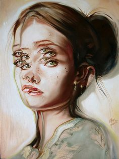 YSALINE VAN WALLENDAEL_REFERANT2_COURS1_INSTABILITE Paintings by Alex Garant