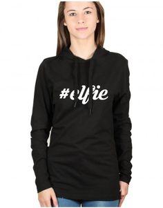 Christmas: Elfie Yourself T-shirt Hoodie (Toodie). Shop Christmas Toodies at www.firetrend.co.uk. #christmas #tshirt #hoodie #toodie #firetrend Mens Christmas T Shirts, Christmas Jumpers, Jumper Designs, Shops, College Fashion, Hoodies, Sweatshirts, Neck T Shirt, Graphic Sweatshirt