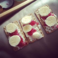 Healthy snack.
