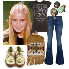 Marcia Brady, created by playmate1960 on Polyvore