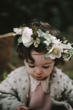 Sweet Hannah B Design Little Girl's Dress - Xan's Eye Photography - Floral Crowns - Mother and Daughter Photo Shoot
