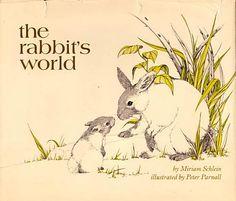 Illustrator Peter Parnall, via Animalarium: Delicate worlds