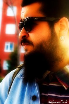 #portre #beard #earrings #sunglasses #photography #everything