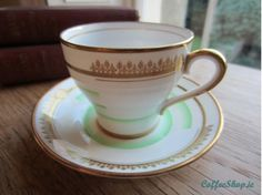 Fine Bone Bell China Vintage Cup & Saucer