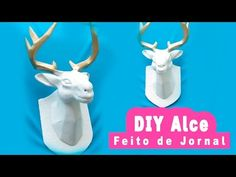 Just in time for Christmas, I show you how to create the coolest and most inexpensive 3D Deer Head, made out of paper! If I can do it, so can you! Get those ...