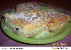 Suchý koláč s tvarohem recept - TopRecepty.cz