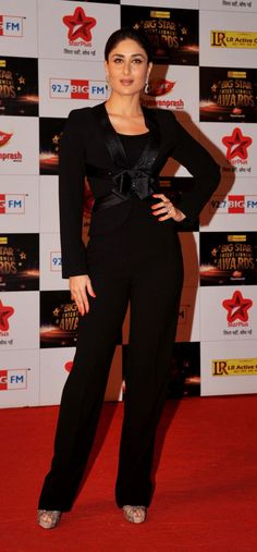 When Kareena Kapoor Khan meant business in this serious ensemble. | 25 Times Bollywood Actresses Ditched Gowns For Pantsuits