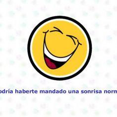 Podría haberte mandado una sonrisa normal.   Pero tu te mereces mas que una sonrisa normal.   Entonces decidí hacer esto!!  8. ¿Conseguí hacerte sonreír. http://slidehot.com/resources/campana-para-sonreir.63309/