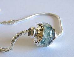 Cremation jewelry  Artisan memorial keepsake by PoseidonsBooty, $140.00