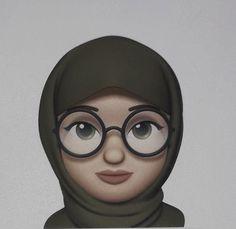 Cute Emoji Wallpaper, Cute Cartoon Wallpapers, Hijab Drawing, Islamic Cartoon, Female Cartoon, Girl Emoji, Anime Muslim, Hijab Cartoon, Panda Art