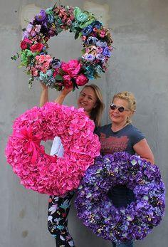 artificial flowers wreaths - www.tenDOM.pl