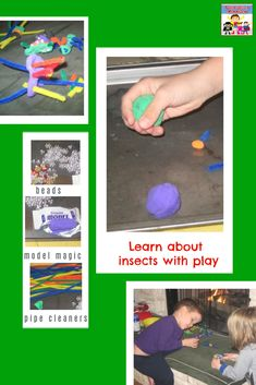 A fun insect craft for preschool #preschool #kidscraft #STEM #homeschool