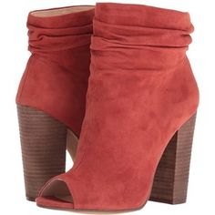 Kristin Cavallari Laurel Slouch Bootie (Brandy Kid Suede) Women's Dress Pull-on Boots
