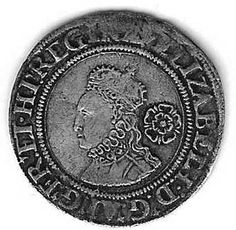Elizabeth I - 1561 sixpence ...Be a coin collector and get coins right from PCH !
