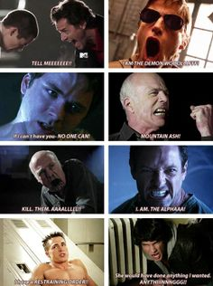 Hahaha, a bunch of the over dramatic yelling! Teen Wolf Memes, Teen Wolf Quotes, Teen Wolf Mtv, Teen Wolf Funny, Teen Wolf Boys, Teen Wolf Dylan, Teen Wolf Cast, Teen Wolf Ships, Wolf Stuff