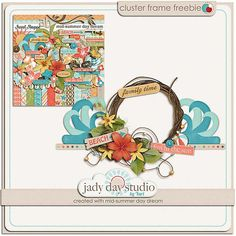 Free Cluster Frame by Jady Day Studio