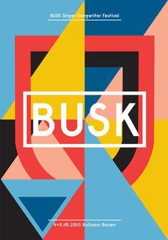 Beautiful geometric branding for Italian music festival | Branding | Creative Bloq