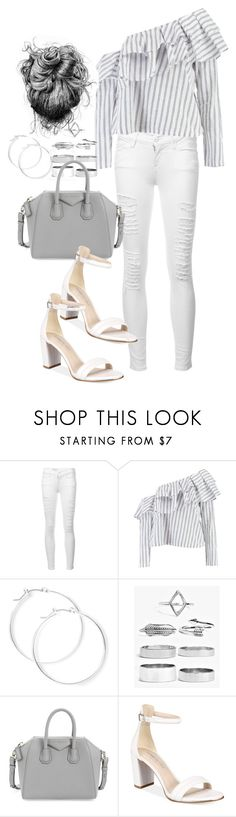 """""""Untitled #5113"""" by lilaclynn ❤ liked on Polyvore featuring Frame, Boohoo, claire's, Givenchy, Kenneth Cole and boohoo"""