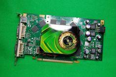 Grafikkarte Nvidia GeForce 7950 GT, 512MB DDR3 RAM, PCIe, 2 x DVI, 1 x S-Video