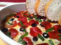 Hot Pizza Dip Adapted Slightly from AllRecipes.Com