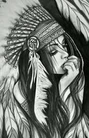 Resultado de imagen para desenho indía pra tatuar