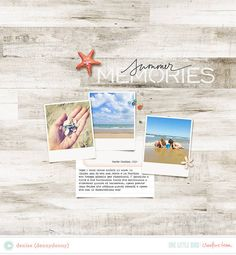 Summer Memories by dennydenny in Lily Pad gallery using Cabana kit by One Little Bird