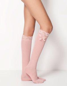 Bershka Serbia - #Bow detail socks #wishlist