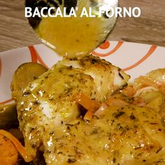 BACCALÀ AL FORNO This salt baked fish recipe is fish crusted in salt and slid in the oven and baked until moist and tender and perfect. Il BACCALÀ A. Fish Recipes, Seafood Recipes, Cooking Recipes, Healthy Recipes, Baked Cod Recipes, Salt Baked Fish, Cena Light, Kfc Chicken Recipe, Pollo Tandoori