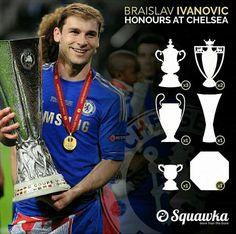 Branislav Ivanovic - Chelsea FC (trophy Haul)