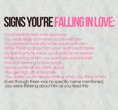 <3 signs of love...guilty as charged...;)