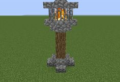 Medieval Nordic Lightpost - GrabCraft - Your number one source for MineCraft bui. - Medieval Nordic Lightpost – GrabCraft – Your number one source for MineCraft buildings, bluepri - Minecraft World, Plans Minecraft, Minecraft Building Guide, Minecraft Castle, Minecraft Tutorial, Minecraft Blueprints, Minecraft Crafts, Building Ideas, Minecraft Structures