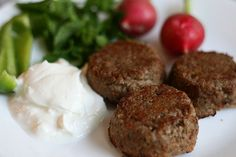 Lebanese Kibbeh Patties | My Halal Kitchen | Inspiration for Wholesome Living | with Yvonne Maffei