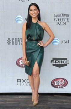 Olivia Munn attends Spike TV Guys Choice 2014 at Sony Pictures Studios, Culver City Olivia Munn, Best Celebrity Dresses, Oklahoma, Non Blondes, Spike Tv, Killer Legs, Lovely Legs, Girl Fashion, Fashion Design