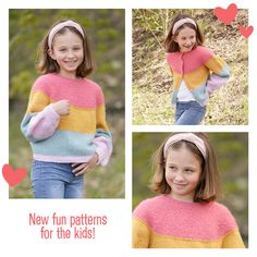 Picotrand (in Hin- und Rück-R) (Tutorial Video) Knitting Designs, Knitting Patterns Free, Free Knitting, Free Crochet, Crochet Patterns, Drops Design, Knitted Capelet, Gilet Crochet, Different Patterns