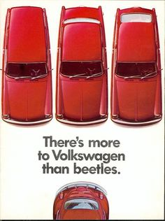 There's more to Volkswagen than Beetles.