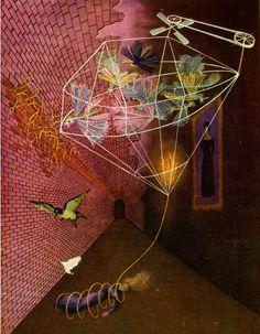 Angustia-o-Pesadilla-1947 by Remedios Varo